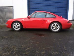 PORSCHE 993 TARGA  6-gear manual