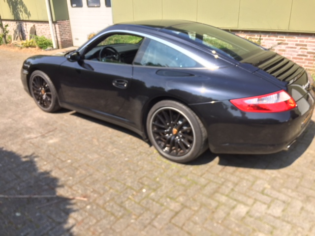 Porsche 911 997 Targa  Manual