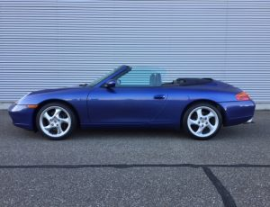 PORSCHE 911 996 CABRIOLET 1998 in super condition