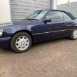 Mercedes-Benz E200 Cabriolet 1995, 5 speed manual