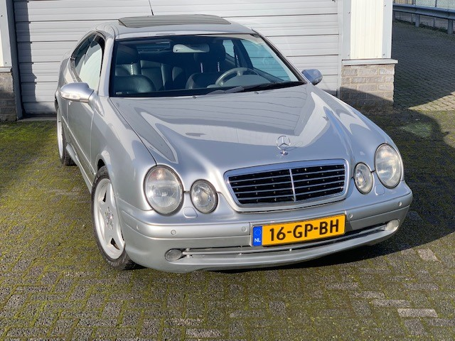 Mercedes CLK 430 coupe with AMG package
